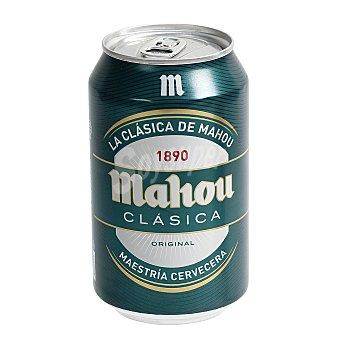 Mahou Cerveza clásica 33 centilitros