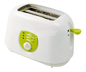 Selecline Tostador, 2 ranuras, función de recalentamiento, descongelación e interrupción, termostato regulable en 7 posiciones, apagado automático, bandeja recogemigas, recogecables integrado XB 8553