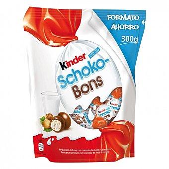 Kinder Mini huevos de chocolate rellenos de leche y avellanas Schokobons 300 G 300 g