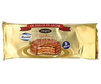 Mardel Alfajores de dulce de leche con chocolate Paquete 150 g