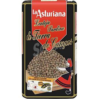 La Asturiana Lenteja pardina Tierra De Campos Paquete 1 kg