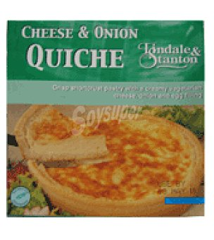 Tindale stanton Quiche cheese Onion 350 g