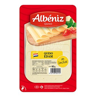 Albeniz Lonchas queso edam 90 g