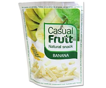 CASUAL FRUIT Banana crujiente bolsa de 15 gramos