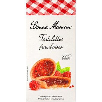 BONNE MAMAN Tartelettes Rellenas de frambuesa Estuche 125 g