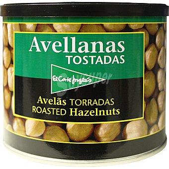 El Corte Inglés Avellanas tostadas Lata 280 g