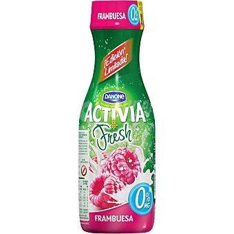 Activia Danone Yogur líquido fresh sabor frambuesa 0% M.G  envase 550 g