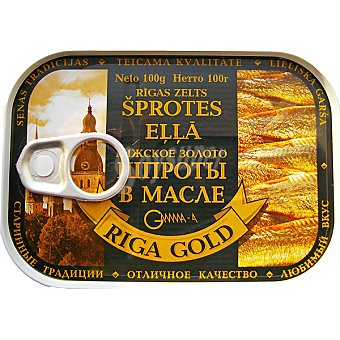 RIGA GOLD Ahumados en aceite Lata 70 g
