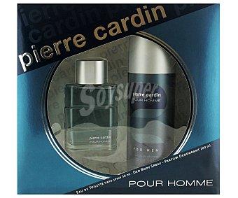 Pierre Cardin Estuche Colonia Hombre: Colonia 50ml + Desodorante 200ml 1u