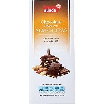 Aliada Chocolate negro con almendras Tableta 150 g