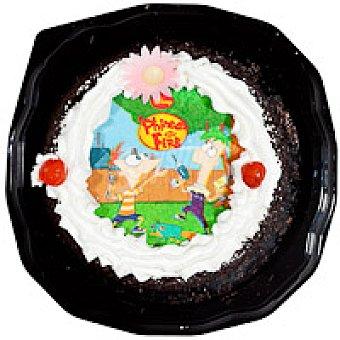 Tarta de trufa con oblea 850 g