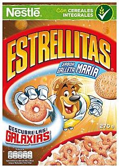 NESTLE Estrellitas Cereales de desayuno sabor galleta María  paquete 270 g