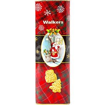 Walkers Galletas de mantequilla con formas de navidad Estuche 250 g