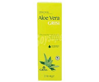GRISI Crema facial con aloe vera altamente hidratante 60 gramos