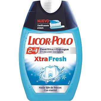 Licor del Polo Dentífrico con elixir 2 en 1 16h Xtra Fresh bote 75 ml Bote 75 ml