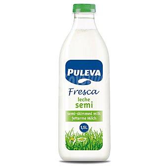 Puleva Leche fresca semidesnatada Botella 1.5 l