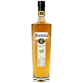 FRATELLO Licor de avellanas Botella 70 cl
