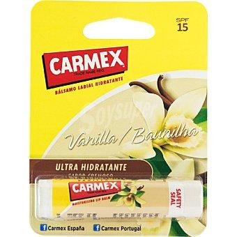 Carmex Bálsamo labial hidratante vainilla FP-15 blister 1 unidad