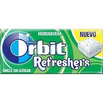 Orbit Chicle de hierbabuena cubo refreshers Lc Paquete 15,5 g