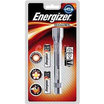 Energizer Linterna led metal 2aa 35 lumens incluye 2 pilas AA 1 unidad