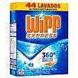 Detergente en polvo 44 dosis Wipp Express