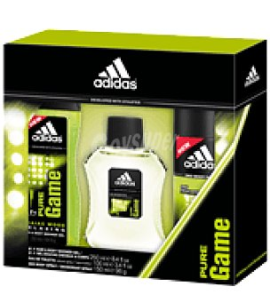 Adidas Estuche de colonia spray 100 ml. + desodorante 150 ml. + gel 250 ml. Pure Game 1 ud
