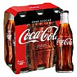 Refresco de cola zero Pack 6 botellines x 20 cl Coca-Cola Zero