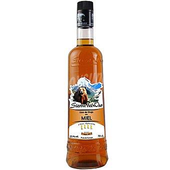 SIERRA DEL OSO Licor de orujo a la miel Botella de 70 cl