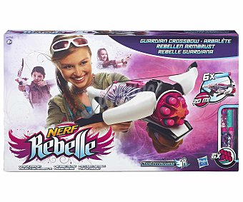 NERF REBELLE Ballesta Lanzadora de Dardos Modelo Guardiana 1 Unidad