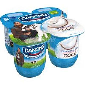 Danone Yogur de coco 4 unidades de 125 g
