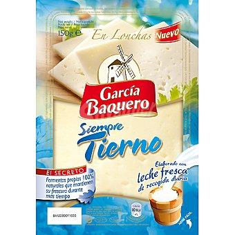 Garcia Baquero Queso tierno lonchas 150 g
