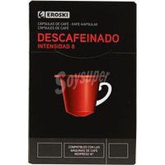 Eroski Café descafeinado Caja 10+2 monodosis