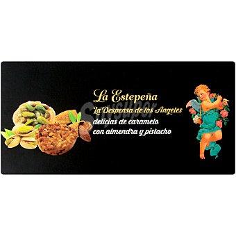 LA ESTEPEÑA LA DESPENSA DE LOS ÁNGELES delicias de caramelo con alméndra y pistacho  estuche 140 g