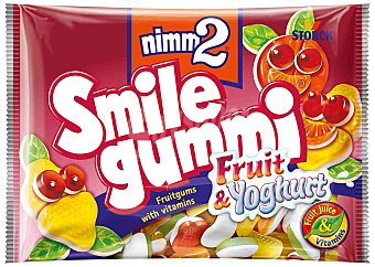 Nimm2 Golosinas Fruit Yogurt Smilegummi 100 g