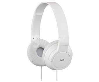 JVC HA-S180-W-E Auricular cerrados tipo casco con cable, color blanco
