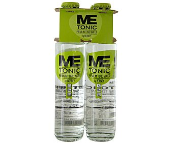 ME TONIC Premium Tónica pack 4 botella 20 cl Pack 4 20 cl