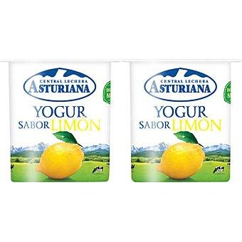Central Lechera Asturiana Yogur sabor limón Pack 4 unds. 125 g