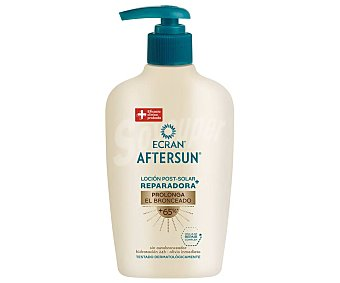 Ecran Aftersun Loción reparadora after sun, con acción prolongadora del bronceado 200 ml