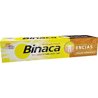 Binaca Pasta dentífrica triple acción encías delicadas Tubo 75 ml