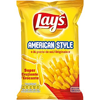 Lay's Patatas fritas al plato American Style al punto de sal Bolsa 160 g