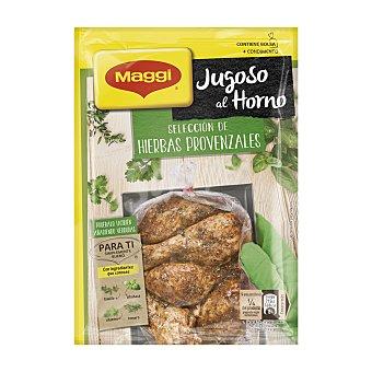 Maggi Jugoso al horno hierbas provenzales Sobre 34 gr