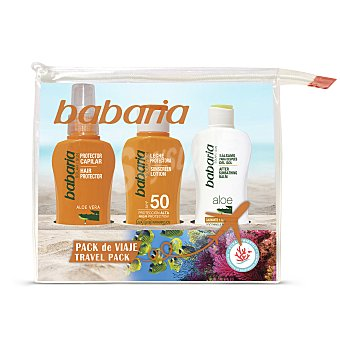 Babaria Pack leche solar + after sun + protector capilar 100 ml 100 ml
