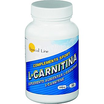 Special Line L-Carnitina 500 mg Bote 60 unidades