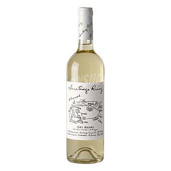 Santiago Ruiz Vino blanco Albariño D.O. Rías Baixas Botella 75 cl