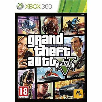 XBOX 360 Videojuego Grand Theft Auto V 1 unidad