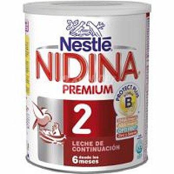 Nidina Nestlé Leche de continuacion 2 Premium Lata 1000 g