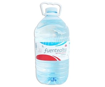 Fuentealta Agua Mineral Garrafa de 5 Litros