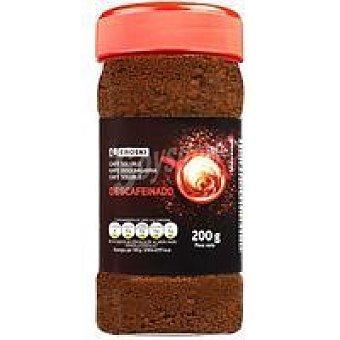Eroski Café soluble descafeinado frasco 200 g