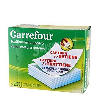 Carrefour Gamuza atrapa polvo 20 ud