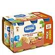 Tarritos Nestlé Verduritas de con Pollo 6x250 grs Pack 6 x 250 g La huerta